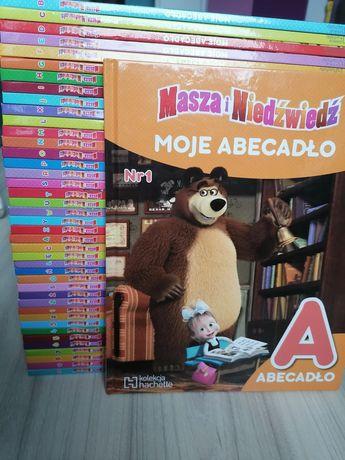 Masz i Niedźwiedź Moje Abecadło 42 szt