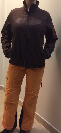 Pomarańczowe spodnie narciarskie Trespass XS