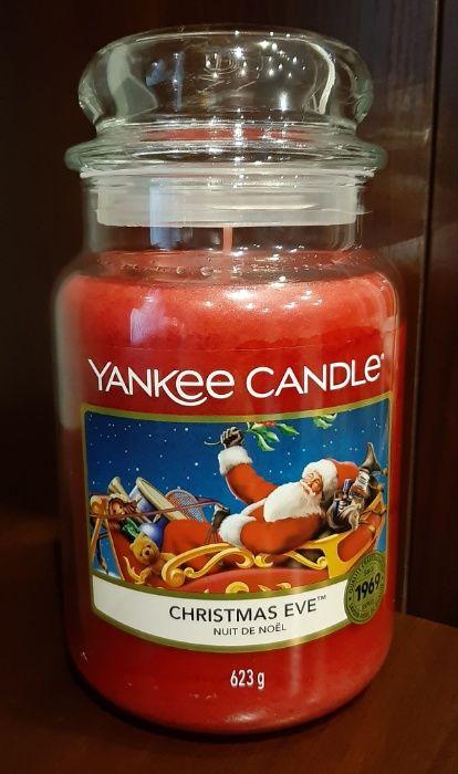 Świeca Yankee Candle - Christmas Eve, 623g (duża) Wigilia, Święta
