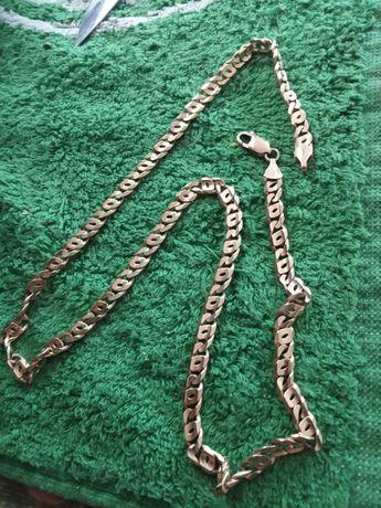 Łańcuszek 29,50 GRAM złoto 14K 585 Gruby masywny złoty łańcuch piękny
