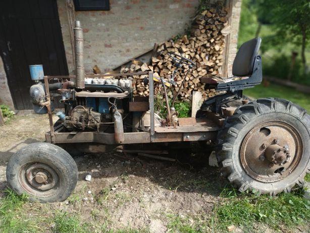 Саморобний трактор Самодельный трактор T-40