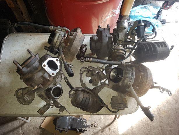 turbo turbina BMW e39 m57 3.0d