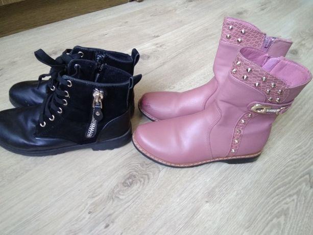 для девочки демисезонные сапоги ботинки