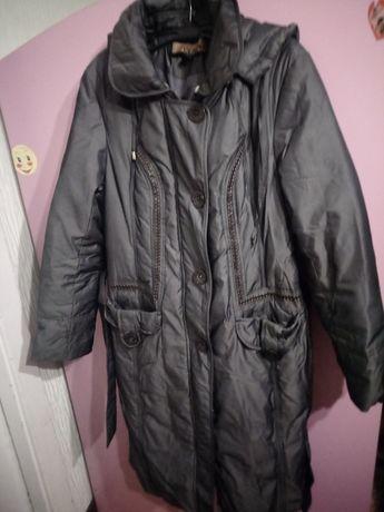 Пальто пуховик 46р куртка зимняя
