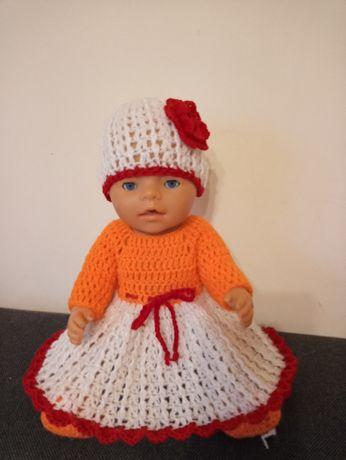Ubranko na lalki baby born i bobas ok.40 cm