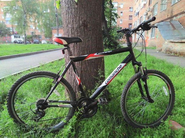 Горный велосипед Comanche Ontario (красно-черный) рама 21, колесо 26