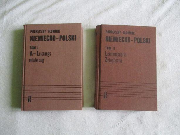Podręczny słownik niemiecko - polski - Chodera Jan