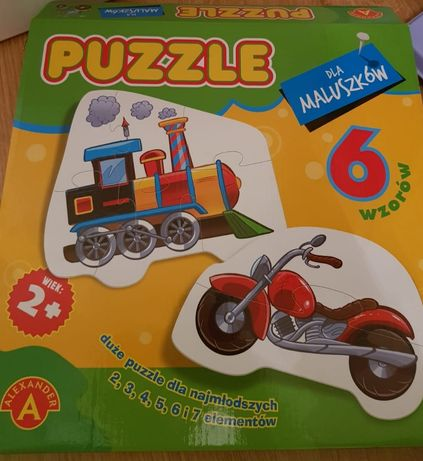 Puzzle dla dzieci od 2 lat
