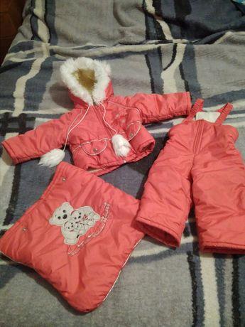 Зимний костюм 3 в 1. Комбинезон