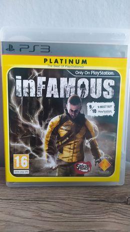 Gra Infamous na konsole ps3 playstation 3