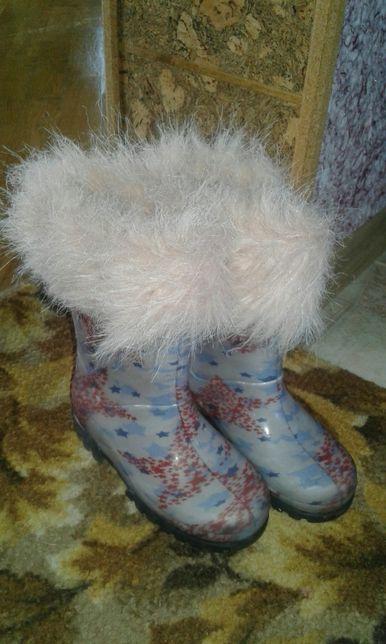 Демари Demar чобітки гумовички чоботи резинові резиновые сапоги