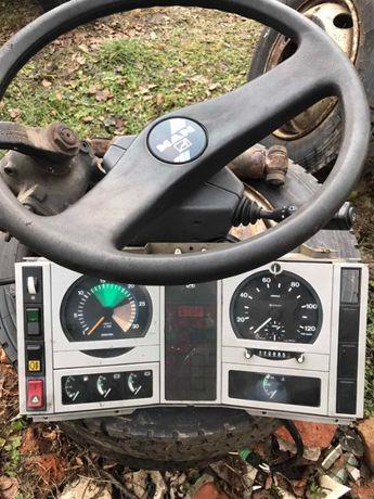 MAN 8.163 ресора радіатор міст бампер руль щиток підкрильники кардан