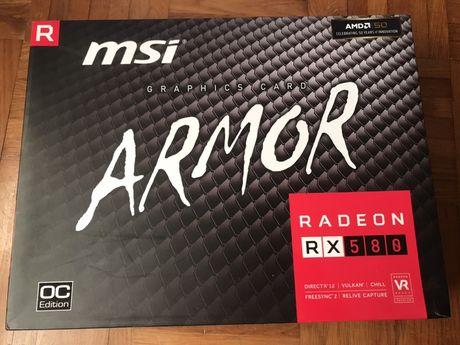 Placa Gráfica MSI Armor Rx 580 GB