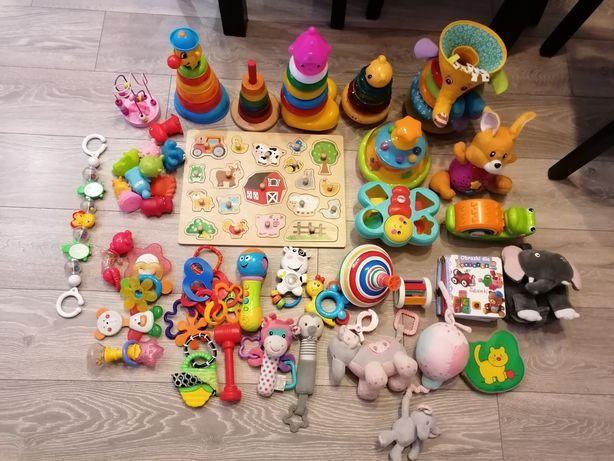 Duży zestaw zabawek dla dzieci, niemowlęcych TANIO