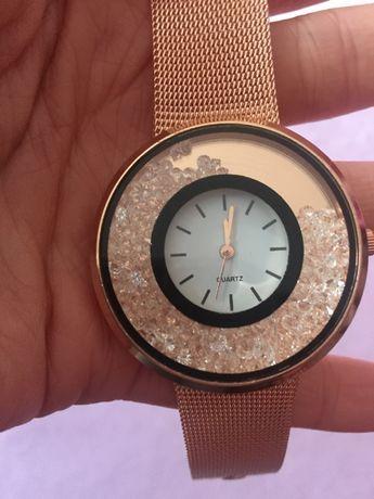 Zegarek rosę gold