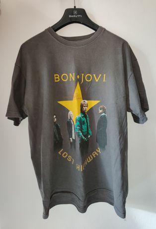 Koszulka t-shirt Bon Jovi vintage retro tee