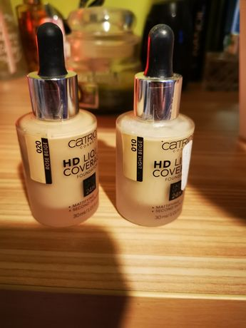 Podkłady catrice HD Liquid Coverage 30 ml