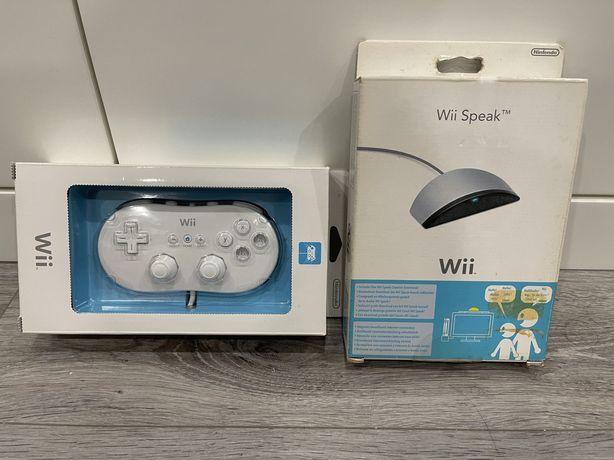 Nintendo Wii - Comando Classico e Wii Speak - Novos em caixa