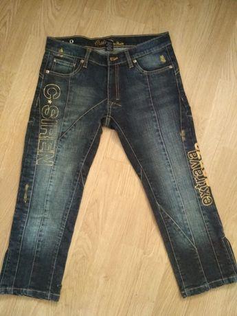 Жіночі джинсові бріджі