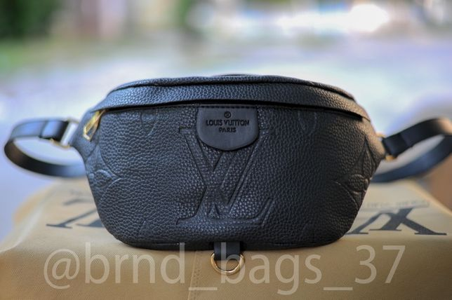 Кожаная сумка Louis Vuitton, бананка, Сумка через плече, сумка на пояс