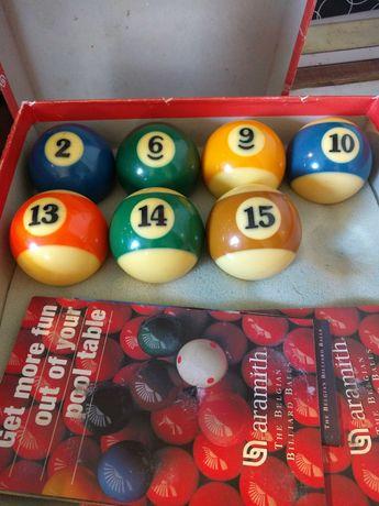 Бильярдные шары б/у Бельгия SUPER PRO поштучно