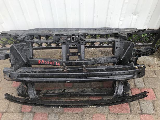 Vw passat b6 телевизор установочная панель касета радіатор капот фара