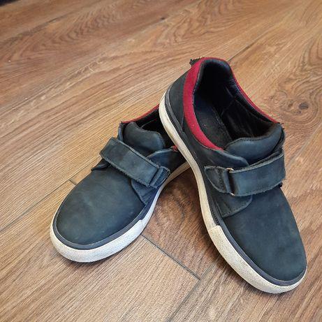 Обувь для мальчика 33 р натурального замша