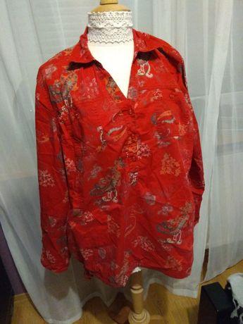 Bluzka bawełniana koszula Cecil rozmiar XXL około 50 stan bdb