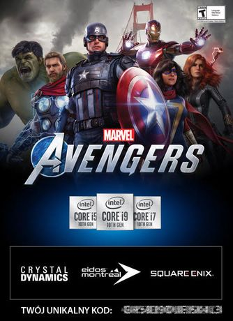 Gra Avengers PC - kod