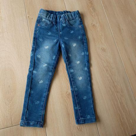 Spodnie jeansy cool club smyk 92