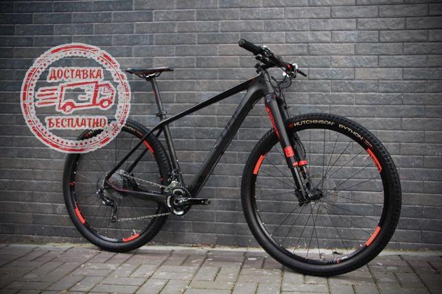 Карбоновый велосипед Cube Reaction GTC SLT bianchi scott cannondale gt