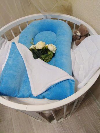 Кокон детская кроватка конверт