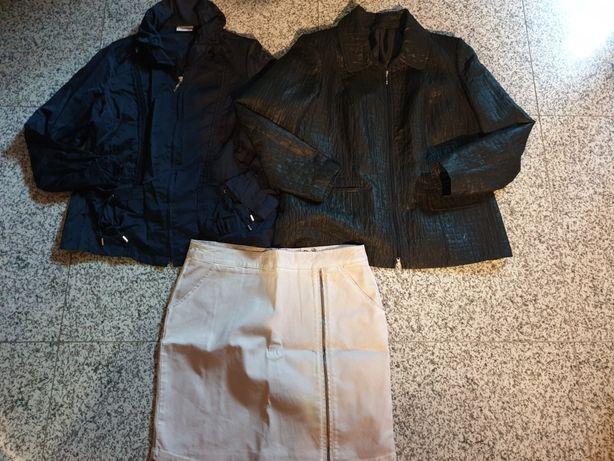 Paka ubrań 40 /42 kurka tunika spódnica bluzka