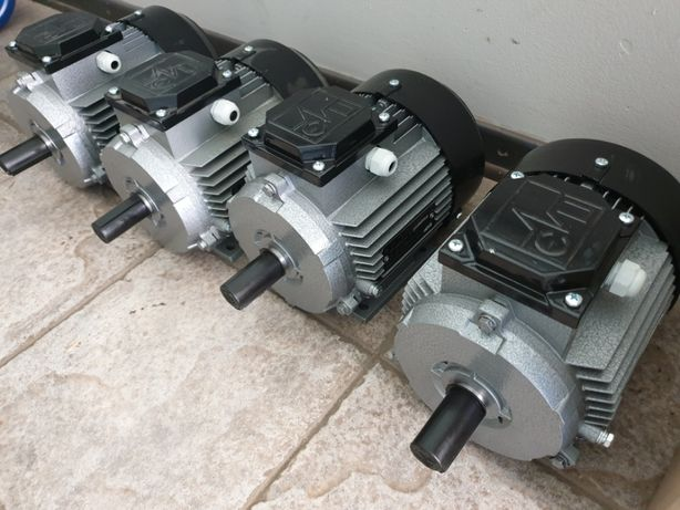 Электродвигатель 380В 220В електродвигун мотор АИР двигун однофазный