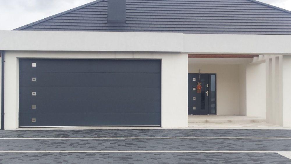 Producent Brama garażowa segmentowa Bramy garażowe przemysłowe 3,52*2