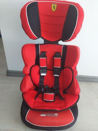 Fotelik Ferrari od 9do 18 kg siedzisko sluzy do 36 kg