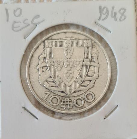 10 escudos 1948 MBC