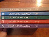 Dicionário Filosófico (5 vols.)