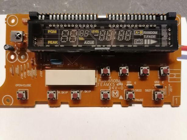 CD technics części, panel, wyświetlacz zasilacz