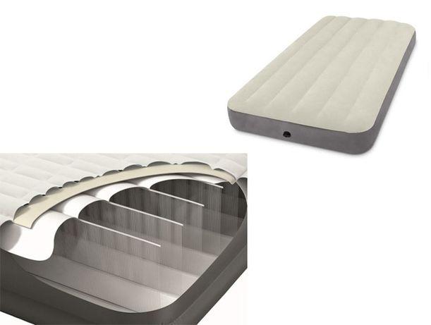 Надувной матрас Intex с технологией Fiber-Tech. Надувнвая кровать