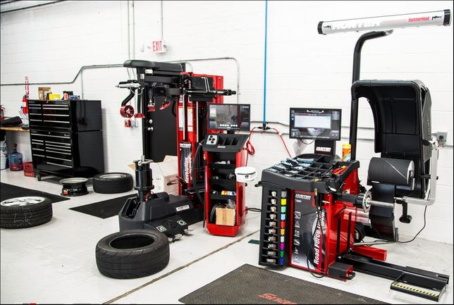 Шиномонтажное оборудование Hunter, Ravaglioli, Brigth.