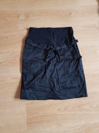 Spódniczka ciążowa rozmiar 38 H&M czarne trochę nad kolano