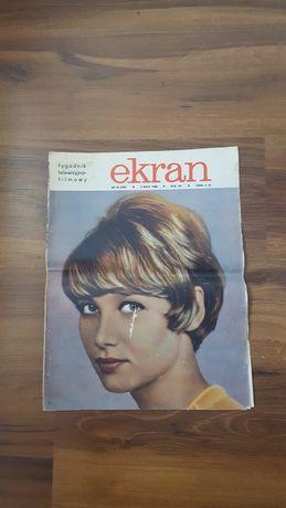 Tygodnik filmowo-telewizyjny Ekran * nr 18 * 5 maja 1968 ***