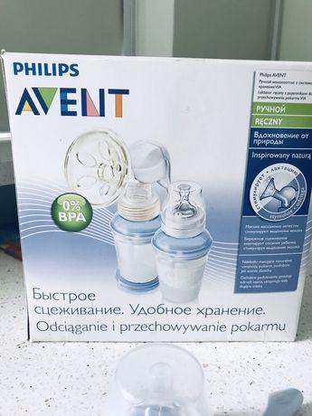 Молокоотсос Philips Avent с набором для хранения
