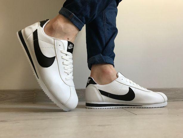 Nike Cortez. Rozmiar 41,42,43,44. Kolor biało- czarny.