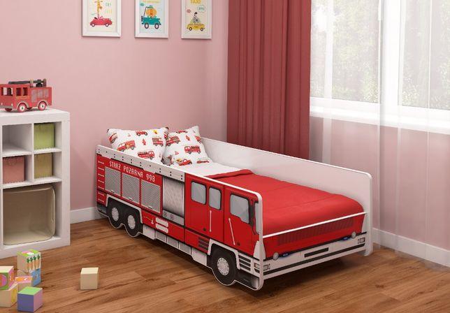 Łóżko, łóżeczko STRAŻ POŻARNA 140x70
