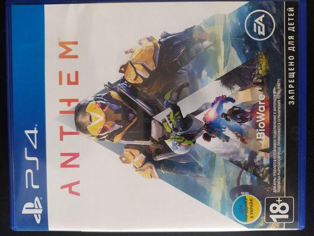 Anthem диск PS 4