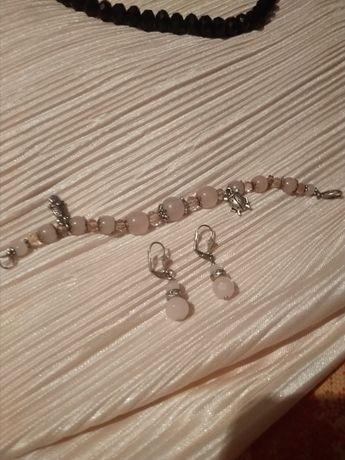 Продам серьги и браслет