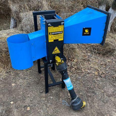 Измельчитель/дробилка веток режущий модуль под ВОМ трактора МТЗ ЮМЗ