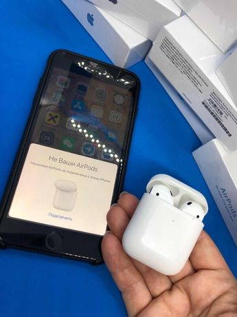 Айрподс сенсорные беспроводные наушники  1:1 Apple iPhone